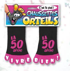 Chaussette à Orteil 50 Aine Rose