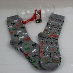 Chaussettes pour Homme dans Boule de Noël - Taille 41/46 - Modèle au Choix