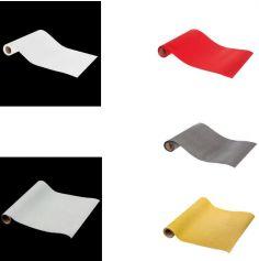 Chemin de Table en Papier à Paillettes - 28 x 500 cm - Couleur au Choix
