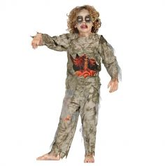 Déguisement de Zombie Garçon - Taille au Choix