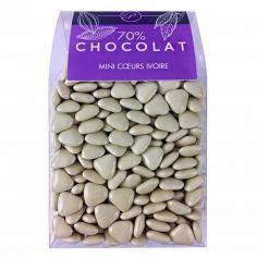 Dragées Mini Coeurs Chocolat 500 gr – Ivoire