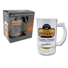chope à bière de la collection gentleman | jourdefete.com