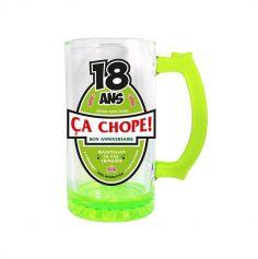 Chope à Bière Mixte Verte - Age au Choix
