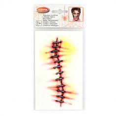 Tatouage Temporaire adulte - Cicatrice Agrafée
