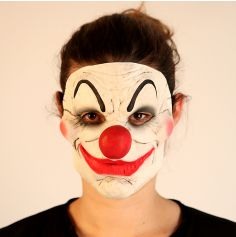 Masque en Latex de Clown Psychopathe - Bientôt Disponible