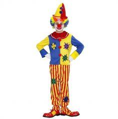 Déguisement de Clown Coloré pour Enfant - Taille au Choix