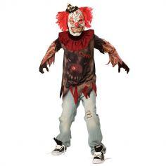 Déguisement Clown de l'Horreur ado - Taille au Choix