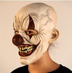 Masque Intégral en Latex de Clown Sadique