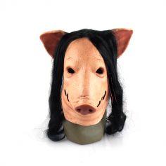 """Masque en latex réaliste - Tête de cochon """"Saw"""" ®"""