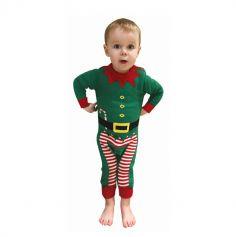 Combinaison de Noël pour Bébé - Lutin - Taille au choix