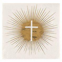 serviette-communion-croix|jourdefete.com