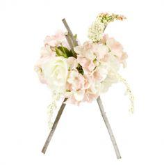 composition-fleurs-a-poser-rose-mariage|jourdefete.com