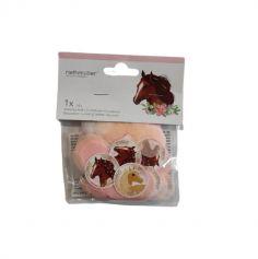 confettis papier 14 gs beaux chevaux | jourdefete.com