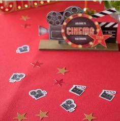Confettis de Table 50 Pièces - Cinéma Hollywood