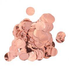 Confettis de Table Couleur Métallisée au Choix