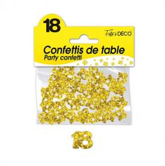 Confettis de Table Or - Age au Choix