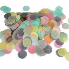 Sachet de Confettis Pastels - 2,5 cm