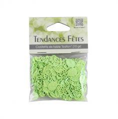 Confettis de table serpentins et ballons - vert anis