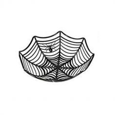 Corbeille toile d'araignée - Couleur au choix