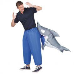 Déguisement gonflable Requin Mordeur (pour adulte)