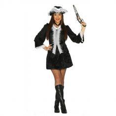 Déguisement Capitaine Pirate Femme - Taille au Choix