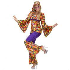 Déguisement Hippie Pantalon Femme