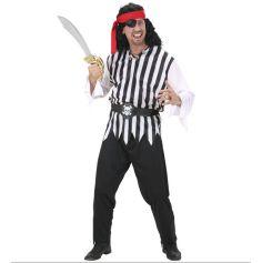 Déguisement Pirate Rayé pour Homme