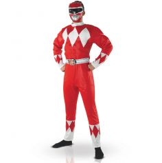 Costume Power Rangers Musclé Homme