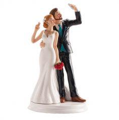 figurines-mariage-gateau-selfie | jourdefete.com