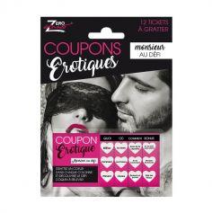 Coupons Erotiques - Modèle au choix