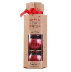 Crackers de 3 Bougies Parfumées de Noël - Couleur au Choix