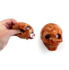 Crâne Gluant - Marron