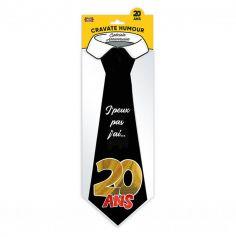 Cravate humoristique Anniversaire - Age au Choix