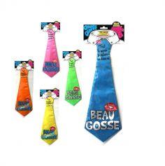 """Cravate à embrasser """"Beau gosse"""" - Différents coloris"""