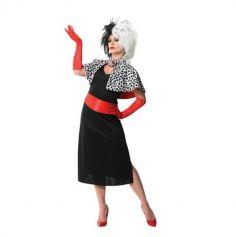 Cruella - Deguisement pour Femme - Taille au Choix | jourdefete.com