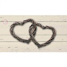 10 Étiquettes Porte-Noms Romantica - Beige