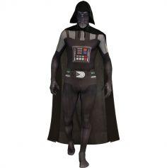 """Déguisement Adulte 2ème Peau Star Wars® """"Dark Vador"""" - Tailles au choix"""