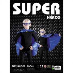 Set de Super Héro Bleu pour Enfant