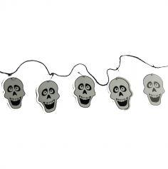 Guirlande Crâne de Squelette - 140 cm