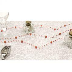 Guirlande de Perles Corail - 2.5 m