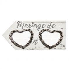 Flèche Directionnelle Romantique - Beige