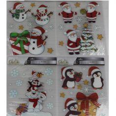 stickers-fenetre-decoration-noel | jourdefete.com