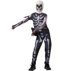 Déguisement Adolescent - Fortnite - Skull Trooper - Taille au Choix | jourdefete.com