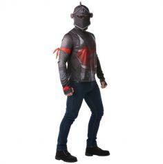 Déguisement Adolescent - Fortnite - Top et Cagoule - Black Knight - Taille au Choix | jourdefete.com