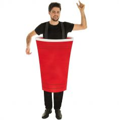 Costume Beer Pong Adulte - Taille Unique