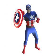 Déguisement Morphsuits Captain America Marvel