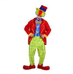 deguisement de clown pour adulte avec chapeau veste nœud papillon et pantalon   jourdefete.com