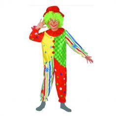 Déguisement Clown Multicolore - Enfant - Taille au choix