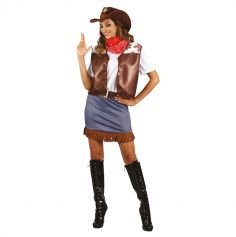 Deguisement Cowgirl Marron pour Femme   jourdefete.com