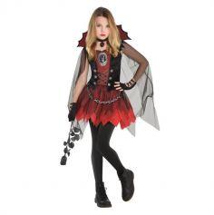 deguisement-fille-halloween-vampire | jourdefete.com